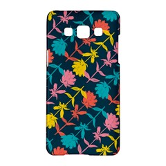 Colorful Floral Pattern Samsung Galaxy A5 Hardshell Case