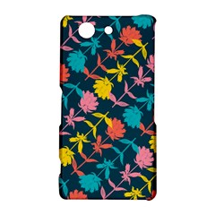 Colorful Floral Pattern Sony Xperia Z3 Compact