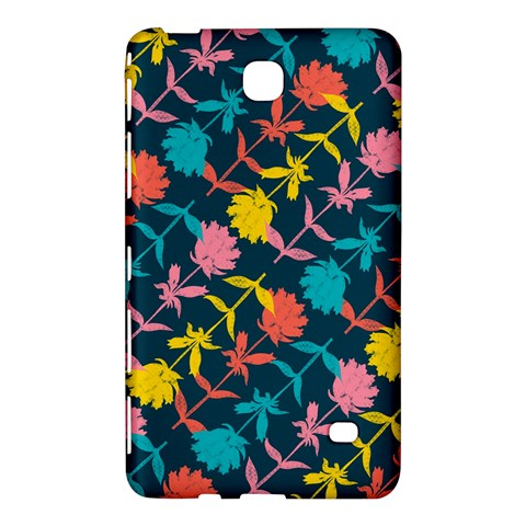 Colorful Floral Pattern Samsung Galaxy Tab 4 (7 ) Hardshell Case