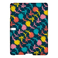 Colorful Floral Pattern Samsung Galaxy Tab S (10 5 ) Hardshell Case