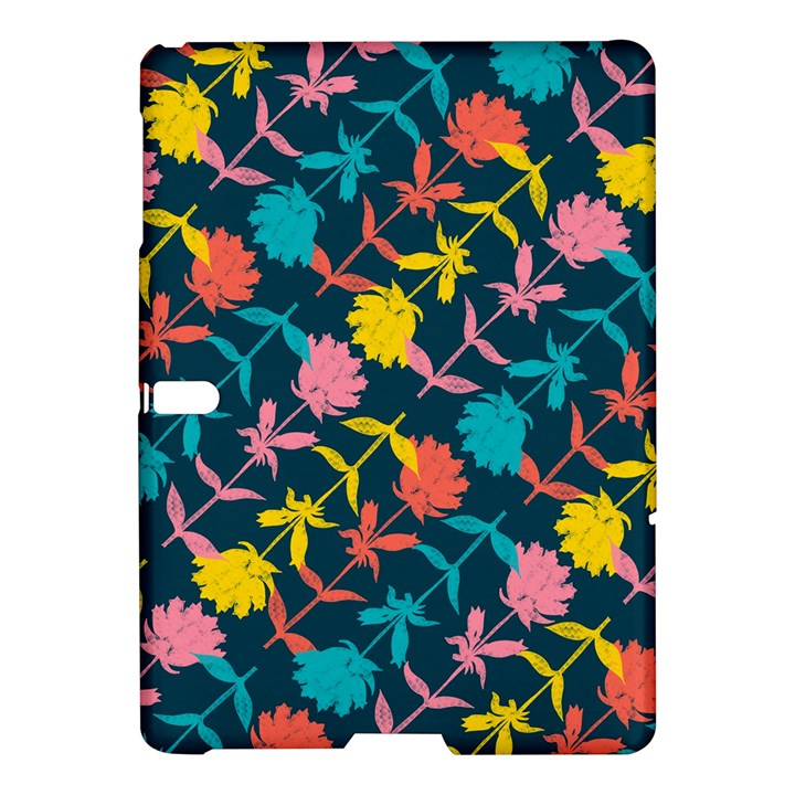 Colorful Floral Pattern Samsung Galaxy Tab S (10.5 ) Hardshell Case