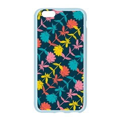 Colorful Floral Pattern Apple Seamless iPhone 6/6S Case (Color)