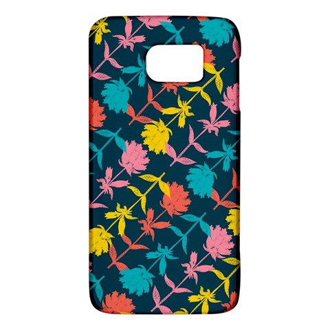 Colorful Floral Pattern Galaxy S6