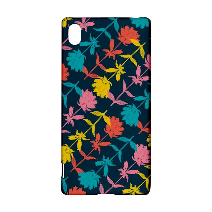 Colorful Floral Pattern Sony Xperia Z3+