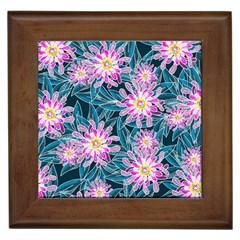 Whimsical Garden Framed Tiles
