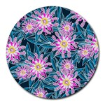 Whimsical Garden Round Mousepads Front