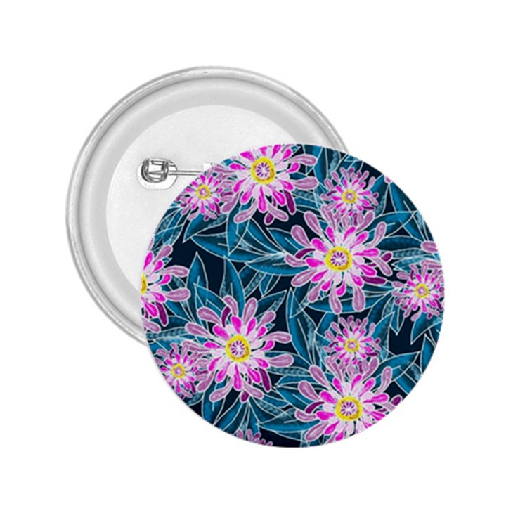 Whimsical Garden 2.25  Buttons