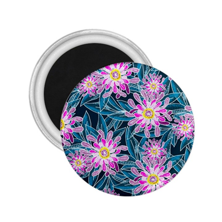Whimsical Garden 2.25  Magnets