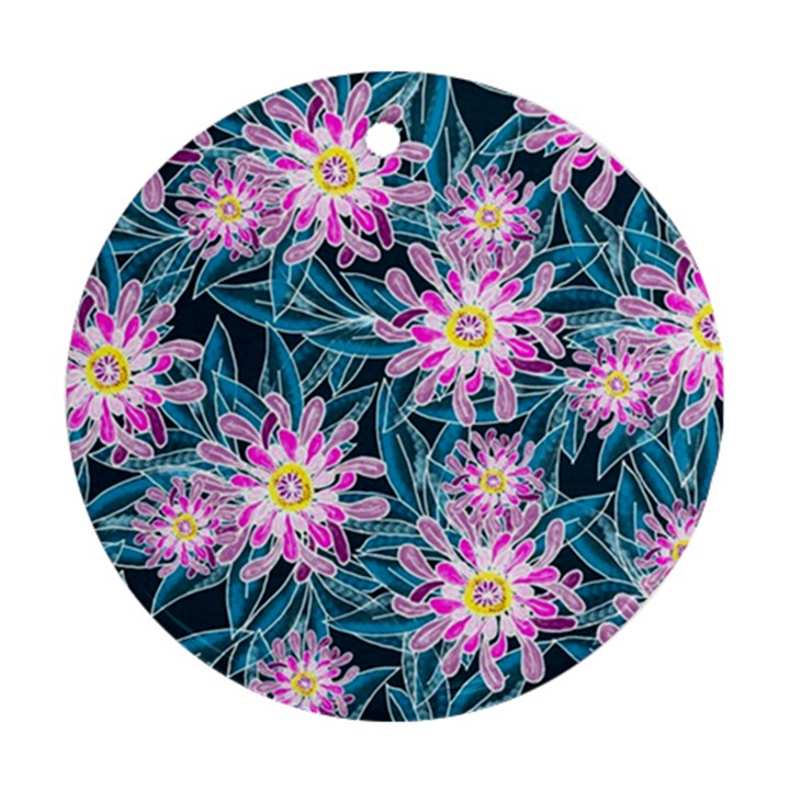 Whimsical Garden Ornament (Round)