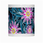 Whimsical Garden White Mugs Center