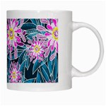 Whimsical Garden White Mugs Right