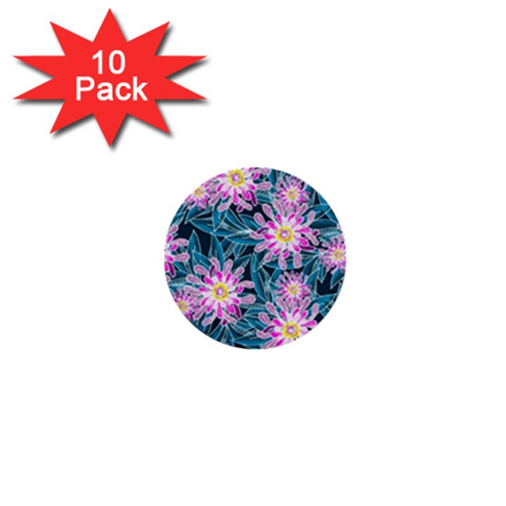 Whimsical Garden 1  Mini Buttons (10 pack)