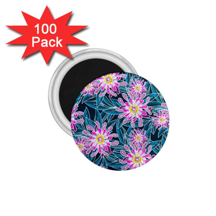 Whimsical Garden 1.75  Magnets (100 pack)