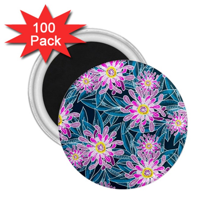 Whimsical Garden 2.25  Magnets (100 pack)