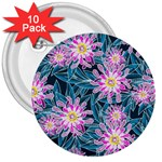 Whimsical Garden 3  Buttons (10 pack)  Front