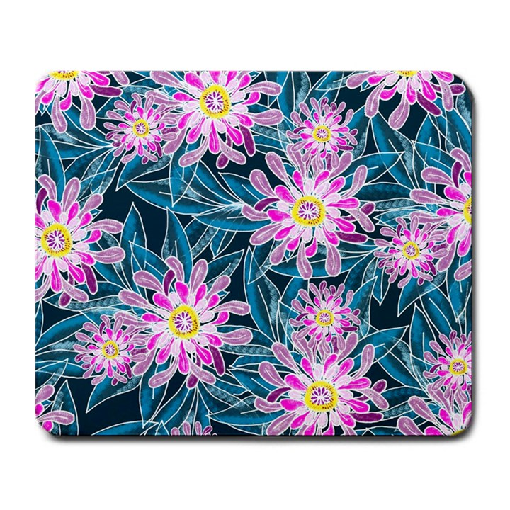Whimsical Garden Large Mousepads