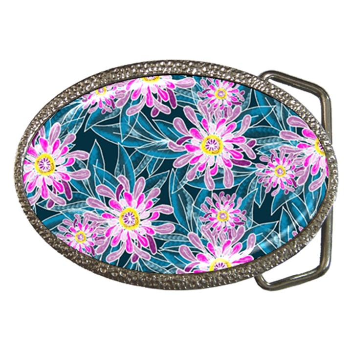 Whimsical Garden Belt Buckles