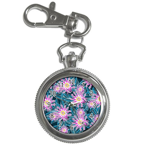 Whimsical Garden Key Chain Watches