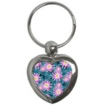 Whimsical Garden Key Chains (Heart)  Front