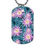 Whimsical Garden Dog Tag (One Side) Front