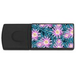 Whimsical Garden USB Flash Drive Rectangular (1 GB)  Front