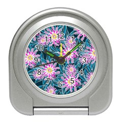 Whimsical Garden Travel Alarm Clocks