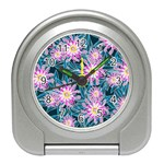 Whimsical Garden Travel Alarm Clocks Front