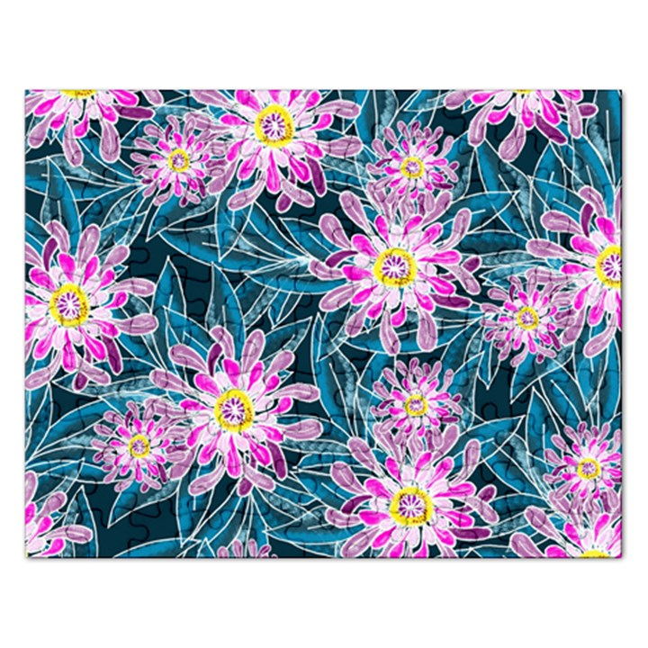 Whimsical Garden Rectangular Jigsaw Puzzl