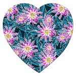 Whimsical Garden Jigsaw Puzzle (Heart) Front
