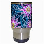 Whimsical Garden Travel Mugs (White) Center
