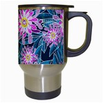 Whimsical Garden Travel Mugs (White) Right