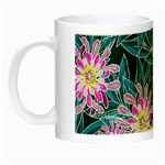 Whimsical Garden Night Luminous Mugs Left