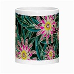 Whimsical Garden Night Luminous Mugs Center
