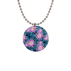 Whimsical Garden Button Necklaces
