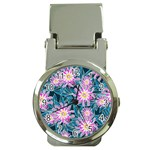 Whimsical Garden Money Clip Watches Front