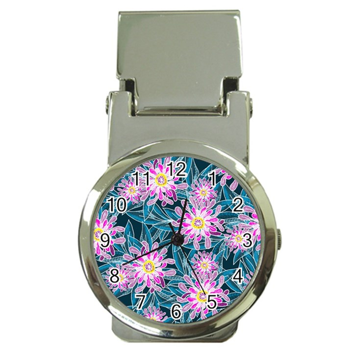 Whimsical Garden Money Clip Watches