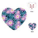 Whimsical Garden Playing Cards (Heart)  Front