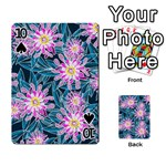 Whimsical Garden Playing Cards 54 Designs  Front - Spade10