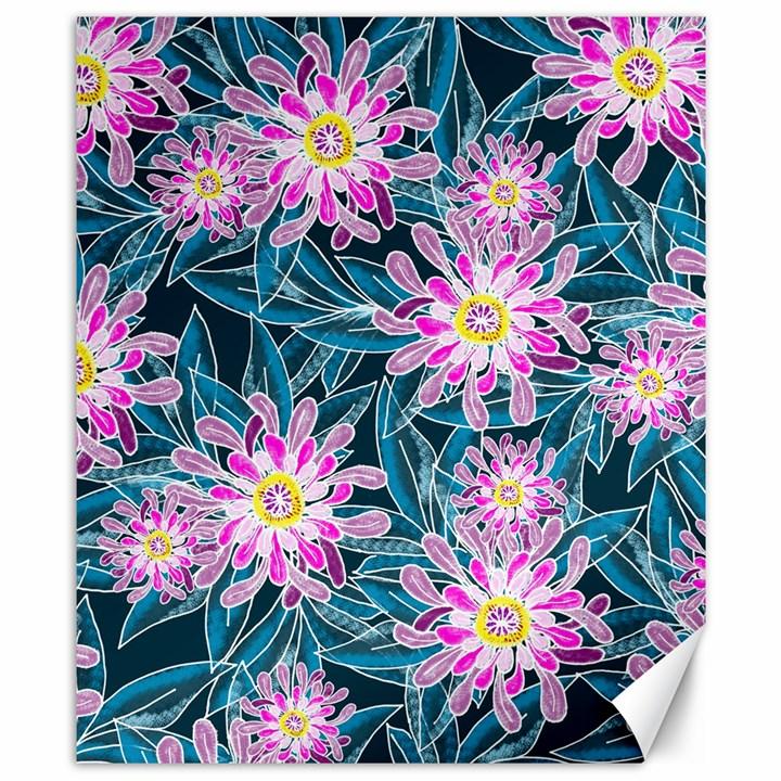 Whimsical Garden Canvas 8  x 10