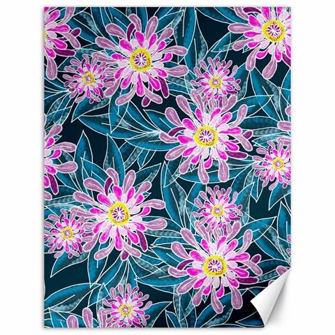Whimsical Garden Canvas 12  x 16