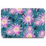 Whimsical Garden Large Doormat  30 x20 Door Mat - 1