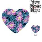 Whimsical Garden Multi-purpose Cards (Heart)  Back 16