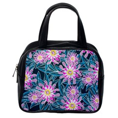 Whimsical Garden Classic Handbags (one Side)