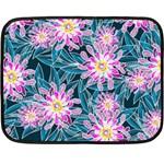 Whimsical Garden Fleece Blanket (Mini) 35 x27 Blanket