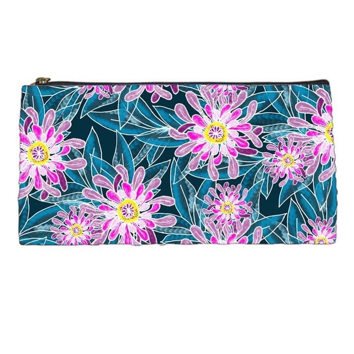 Whimsical Garden Pencil Cases