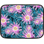 Whimsical Garden Double Sided Fleece Blanket (Mini)  35 x27 Blanket Front