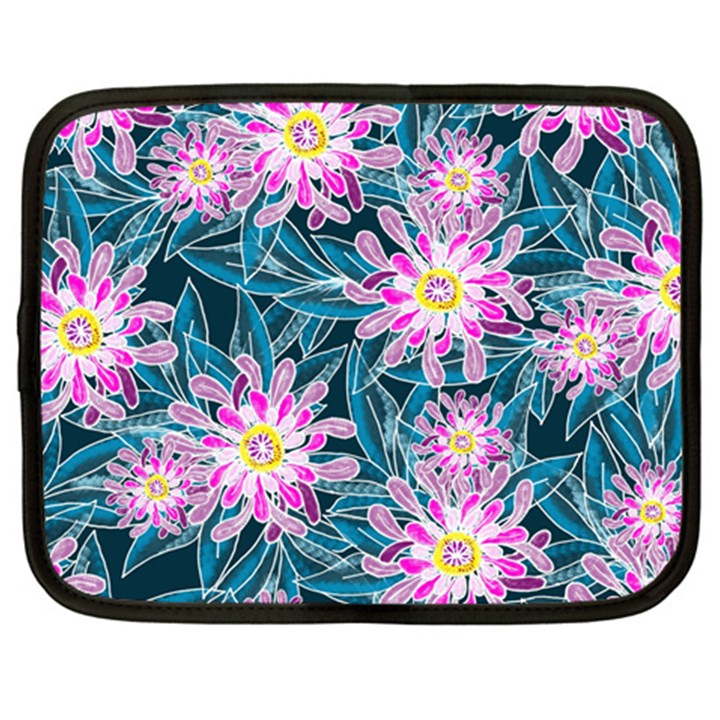 Whimsical Garden Netbook Case (XL)