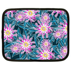 Whimsical Garden Netbook Case (XXL)