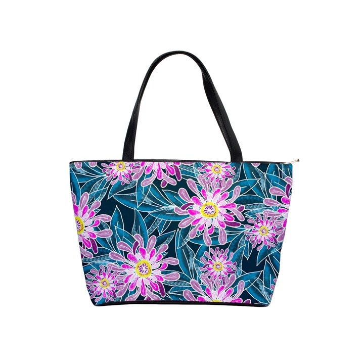 Whimsical Garden Shoulder Handbags