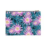 Whimsical Garden Cosmetic Bag (Large)  Back